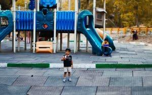 bien être enfant aire de jeux